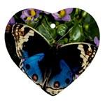 butterfly_4 Ornament (Heart)
