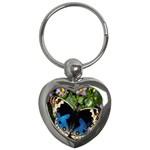 butterfly_4 Key Chain (Heart)