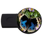 butterfly_4 USB Flash Drive Round (4 GB)
