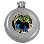 butterfly_4 Hip Flask (5 oz)