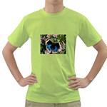 butterfly_4 Green T-Shirt
