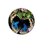butterfly_4 Magnet 3  (Round)