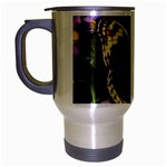 butterfly_4 Travel Mug (Silver Gray)