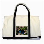 butterfly_4 Two Tone Tote Bag