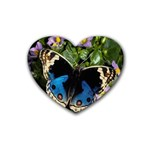 butterfly_4 Heart Coaster (4 pack)