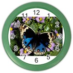butterfly_4 Color Wall Clock