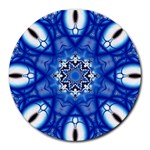 fractal_41 Round Mousepad