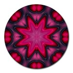 X_Red_Party_Style-777633 Round Mousepad