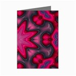 X_Red_Party_Style-777633 Mini Greeting Card