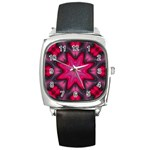 X_Red_Party_Style-777633 Square Metal Watch