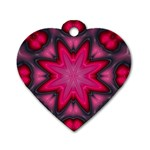 X_Red_Party_Style-777633 Dog Tag Heart (One Side)