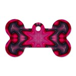 X_Red_Party_Style-777633 Dog Tag Bone (One Side)