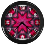 X_Red_Party_Style-777633 Wall Clock (Black)