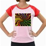 hippy-550591 Women s Cap Sleeve T-Shirt