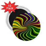 hippy-550591 2.25  Magnet (10 pack)