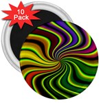 hippy-550591 3  Magnet (10 pack)