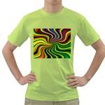 hippy-550591 Green T-Shirt
