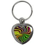 hippy-550591 Key Chain (Heart)
