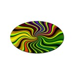 hippy-550591 Sticker (Oval)