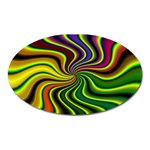 hippy-550591 Magnet (Oval)