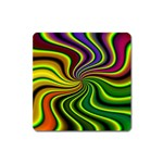 hippy-550591 Magnet (Square)