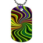 hippy-550591 Dog Tag (One Side)