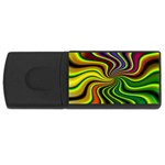 hippy-550591 USB Flash Drive Rectangular (2 GB)