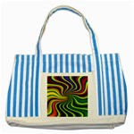 hippy-550591 Striped Blue Tote Bag