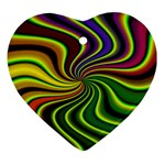 hippy-550591 Heart Ornament (Two Sides)