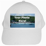 Personalised Photo White Cap
