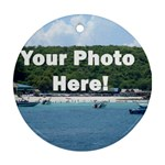 Personalised Photo Ornament (Round)
