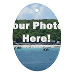 Personalised Photo Ornament (Oval)