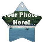 Personalised Photo Ornament (Star)
