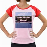 Personalised Photo Women s Cap Sleeve T-Shirt
