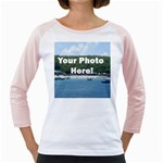 Personalised Photo Girly Raglan