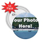 Personalised Photo 2.25  Button (10 pack)