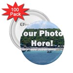 Personalised Photo 2.25  Button (100 pack)