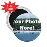 Personalised Photo 2.25  Magnet (100 pack)