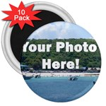 Personalised Photo 3  Magnet (10 pack)