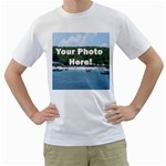 Personalised Photo White T-Shirt