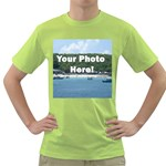 Personalised Photo Green T-Shirt