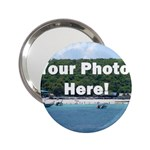 Personalised Photo 2.25  Handbag Mirror
