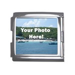 Personalised Photo Mega Link Italian Charm (18mm)