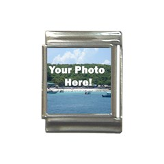 Personalised Photo Italian Charm (13mm) from SnappyGifts.co.uk Front
