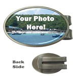 Personalised Photo Money Clip (Oval)