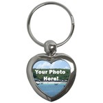 Personalised Photo Key Chain (Heart)