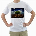 4-908-Desktopography1 White T-Shirt