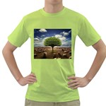 4-908-Desktopography1 Green T-Shirt
