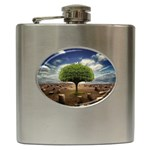 4-908-Desktopography1 Hip Flask (6 oz)