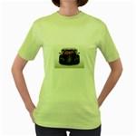 5-110-1024x768_3D_008 Women s Green T-Shirt